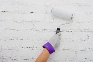 cómo pintar con rodillo